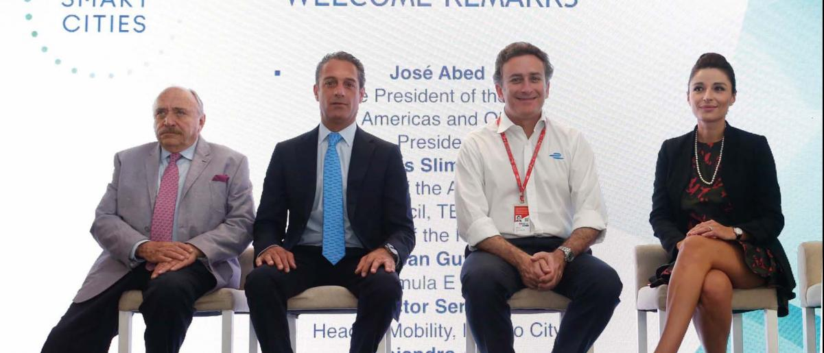 FIA Smart Cities Forum brings together prominent mobility experts to discuss sustainable urban development in Mexico City