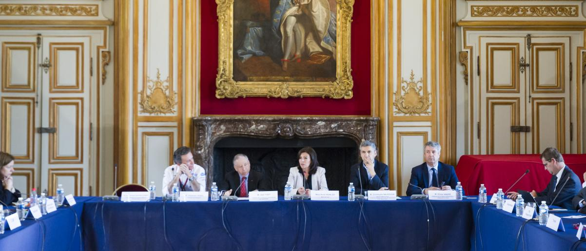 Jean Todt takes part in the launch of the Parisian Mobility Council
