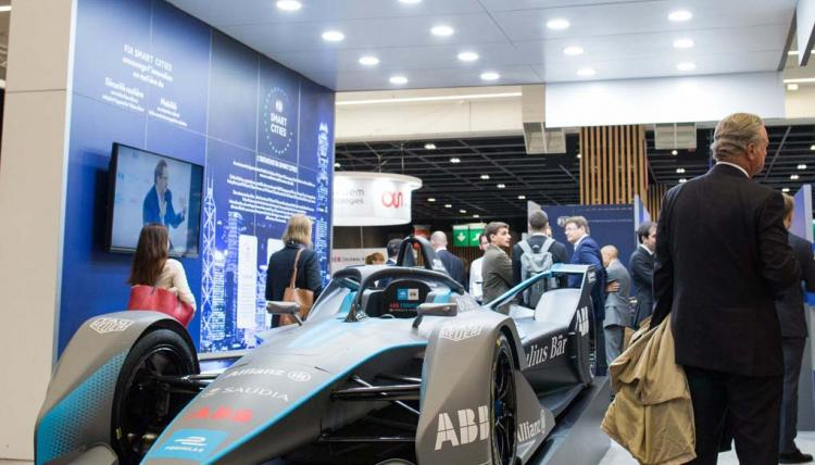 The FIA promoting safe and smart mobility at Mondial Tech in Paris
