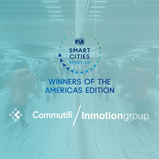 start-up contest, smart cities, americas, commutifi, inmotiongroup