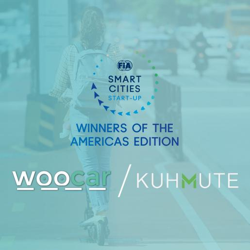 Winners of the Americas edition - FIA Smart Cities Global Start-Up Contest Season 5